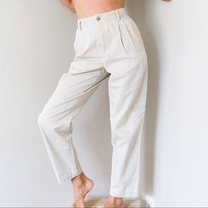 Vintage Liz Claiborne Khaki Trousers 0 XS